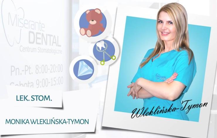 Lek. stom. Monika Wleklińska-Tymon